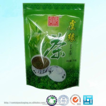 resealable aluminum foil tea packaging bags/empty tea bag for sale/green coffee tea bags 100g/250g/500g with ziplock