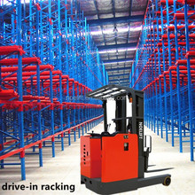 warehouse professor 48V battery reach truck electric reach truck export to Canada market