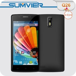 Chinese Mobile 4.5inch MTK6572 Dual Core 3G 854x480 IPS Android 4.4 Celluar Phone