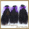 Free samples with free shipping double drawn spanish wave human hair extension weft