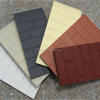 Metal embossed surface composite insulation Panel -Exterior wall insulation board #DSO6001