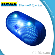 Mini Portable Bluetooth Speaker Led Light Wireless Music Box Sound Stereo Audio Loudspeakers