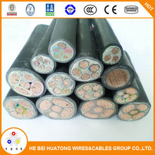 Superior quality 0.6/1kv pvc insulated power cable unarmored power cable external power cable in China