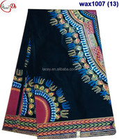 wax1007 (13-17) Good quality/hot sale African printed wax for dress and clothes