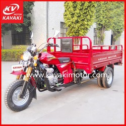 150cc New Hot Sale KV150ZH-D Five Wheels Motorcycle Red Electric Start Adult Tricycle
