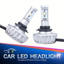 2015 Lattest DIY optional color led headlight DIY color H4 led lamp