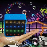 2015 Mini LED light Private Model Cube Bluetooth Speaker