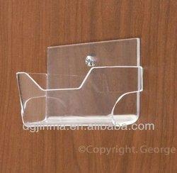 wall mounted acrylic business card holder, acrylic slatwall card holder