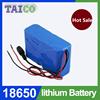 High power 11.1v li-ion battery pack 18650 25ah battery