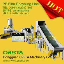 CRSTA DONGGUAN Waste PE/PP plastic film washing recycling line/machine