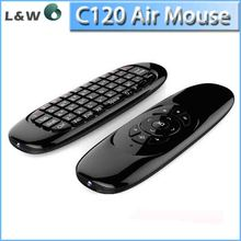 Fly Air Mouse T10 C120 Gaming keyboard Android Remote Control 2.4Ghz Wireless Game Keyboard For Smart Tv Box Mini PC