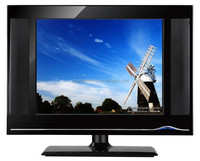 V59 resolution used aspect ratio 4:3 17 inch led/lcd akira tv with 12v dc