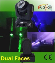 Popular Pixel /Dot Control 2X10Watt RGBW 4in1 Double Face Beam Moving Heads / RGBW Mini Beam Light