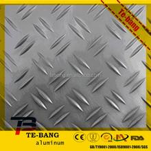 3003 h14 aluminium checkered plate for truck flooring