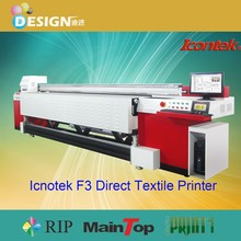 Factory directly!! All adopted imported high quality spare parts stable machine flags printing digital textile printer price