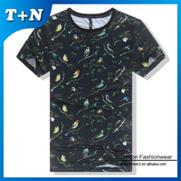 hot sale sport new pattern 60% cotton 40% polyester plain t-shirts