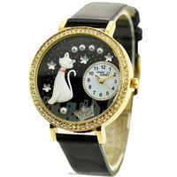 2015 wholesale polymer clay handmade vogue women wrist watch 1012