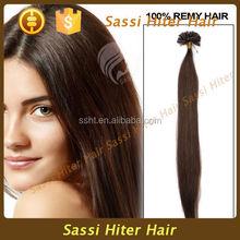 2015 Hot Sale Fashion Fusion U Tip wholesale hair extension large stock