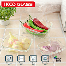 Refrigerator container box glass storage containers