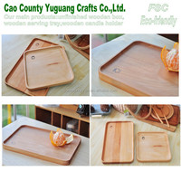 Wooden rectangular tray,Wooden rectangular fruit tray,wood fruit tray