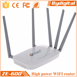 3G/4G LTE 64M Memory 8M Flash 300Mbs wireless Router 5pcs 5dBi antennas built-in Wifi Router Wifi adapter