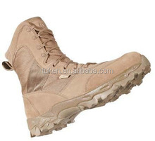 SWAT boots/ suede delta force cross-country marching mission coyote tan tactical desert boots