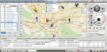 Low cost realtime fleet management gps vehicle tracking software