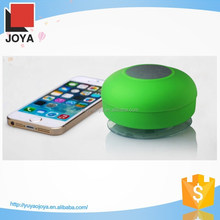 2015 Hot Selling Silicone Sucker Mushroom Mini Wireless Bluetooth mini waterproof speaker For mobile phone