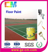 Various Colors Available Acrylic floor Paint for sport Court