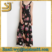 Modern lady sexy long fashionable american 2015 new style dresses