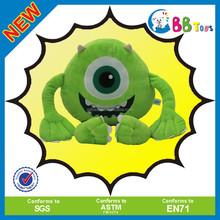 2015 Latest wholesale custom plush toy,Green-eyed little devil