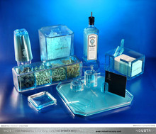 BS Bombay Sapphire high quality Acrylic cocktail shaker gift set/luxury bar set EXCLUSIVE Range for 11 years