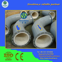 ceramic lined composite steel pipe