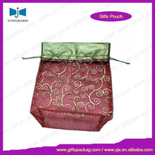 mini organza pouch,small drawstring bags for candy