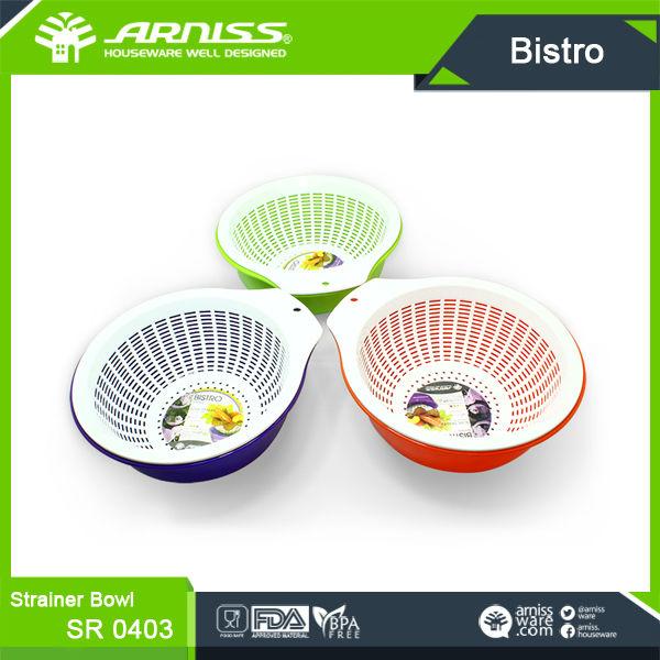 Kitchen round plastic sink strainer