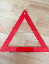road traffic car reflective triangle, emergency car tool Warning Triangle