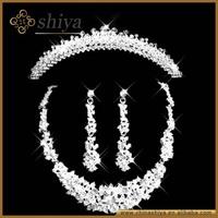 2014 latest artificial vintage simple bulk wedding heavy party wholesale china fashion arabic bridal jewelry sets