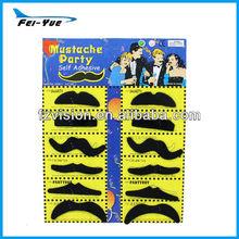 Fancy dress 12pcs per set fake Self Adhesive Mustache Party