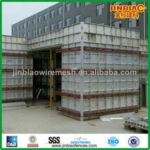 favorable al medio ambiente de metal de aluminio de encofrado de construcción