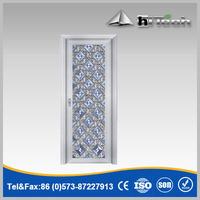 Interior Bedroom Door Single Leaf Glass Door
