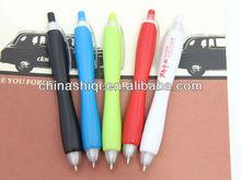 colorful retractable cord stick ball pen