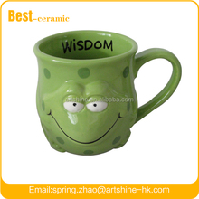 Ceramic mug with handle , 3d animal design ceramic mugs