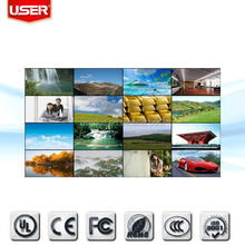 Cheap price TV 55inch 5.3mm slim bezel 450nits original samsung lcd video wall multi screen 3x3