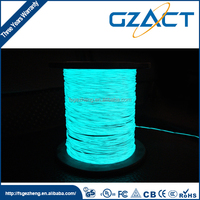 Electroluminescent wire fine green lighting el wire
