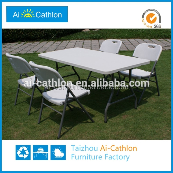 Narrow Outdoor Plastic Folding Dining Table And Chair Buy Dining
