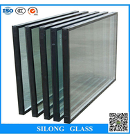 heat absorbing glass sealed unit double glazing insulated replacement glass for sale