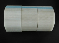 single sided line mesh tape Reinforced strapping tape 2inch*27yard