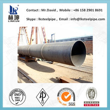 JECO UOE COE HFW ERW LASW SSAW SAWH ASTM A500 Grb welded carbon steel tube with internal and external coating