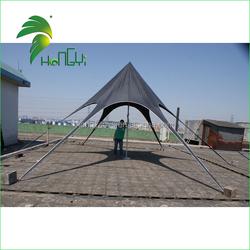 Oxford Cloth 8m dia Black Star Tent , Folding Canopy Tent