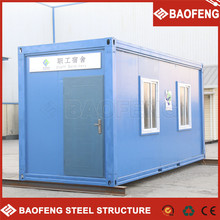 Insulated foldable office container module